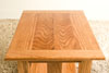 red oak end table