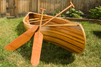 Wood Strip canoe